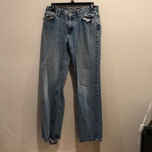 Vintage 90s distressed polo jeans by Ralph Lauren
